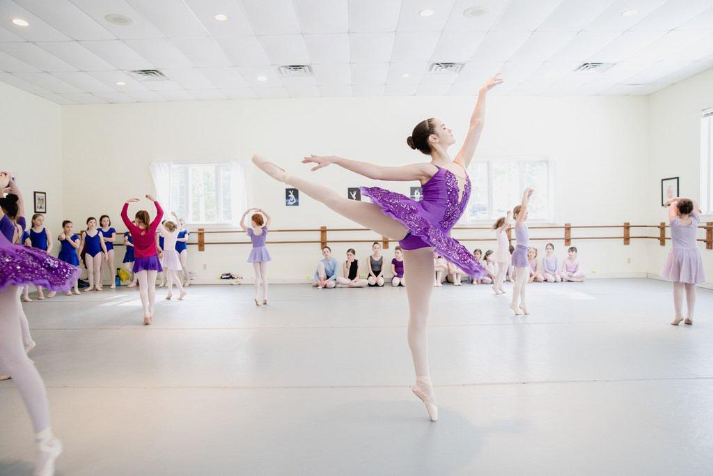 Cinderella rehearsal - photo by Erin Little
