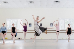 Cinderella rehearsal - photo by Erin Little